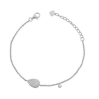 Orphelia Silver 925 Bracelet 16+3 Cm Zirconium  ZA-7051