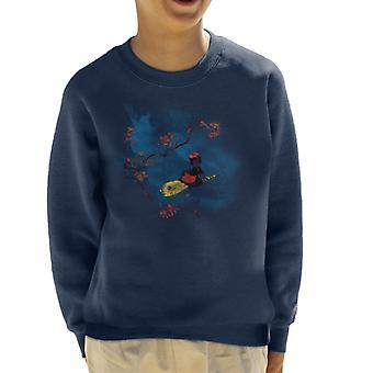 Kikis Frühling Lieferung Service Studio Ghibli Kinder Sweatshirt