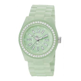 EDC by ESPRIT watch wrist watch ladies Discoglam afterglow bright green EE900172018