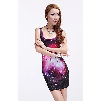 Waooh - Mode - Robe courte motif galaxy