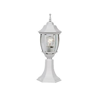 Lucide Outdoor Lighting Socle H42cm E27 White
