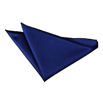 Royal Blue solido Check Pocket Square