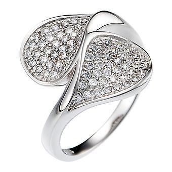 Orphelia sølv 925 Ring Twist Micro bane ZR-3664