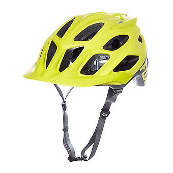 Fox Dark Yellow 2017 Flux Creo MTB Helmet