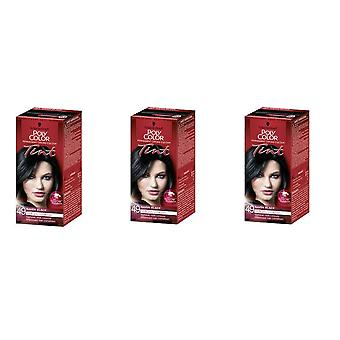 Schwarzkopf 3 X Poly Color Tint - Raven Black 49