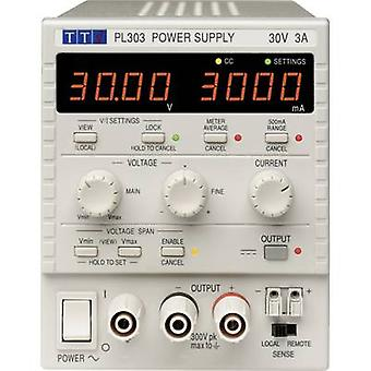 Aim TTi PL303 Bench PSU (adjustable voltage) 0 - 30 Vdc 0 - 3 A 90 W No. of outputs 1 x