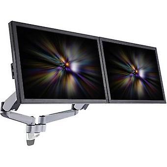 SpeaKa Professional Super Flex 2-weg monitorhouder, wandmontage met pneumatische