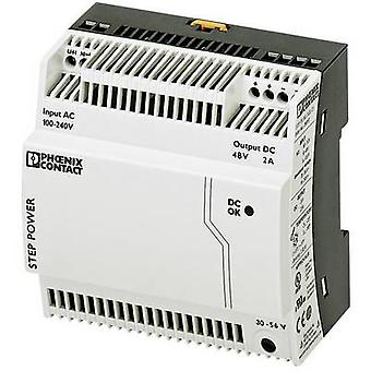 Rail mounted PSU (DIN) Phoenix Contact STEP-PS/1AC/48DC/2 48 Vdc 2 A 96 W 1 x