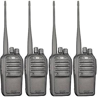 Team elektronische TeCom-SL PR8571 PMR handheld Transceiver 4-teiliges set