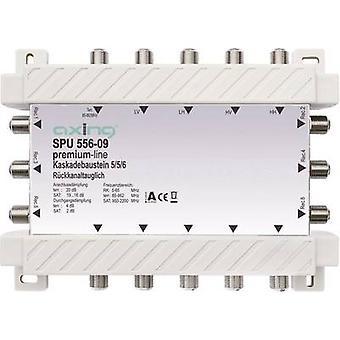 Axing SPU 556-09 SAT cascade multiswitch Inputs (multiswitches): 5 (4 SAT/1 terrestre) No. des participants: 6