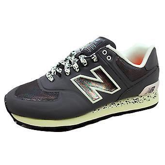 New Balance 574 Atmosphere Black/Green-Silver ML574OBK