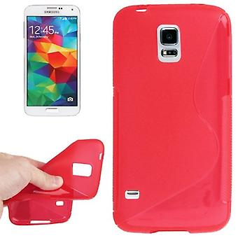 Ligne Mobile Shell S TPU pour Samsung Galaxy S5 / S5 neo