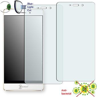 Ken Xin da R6 screen protector - Disagu ClearScreen protector (deliberately smaller than the display, as this is arched)
