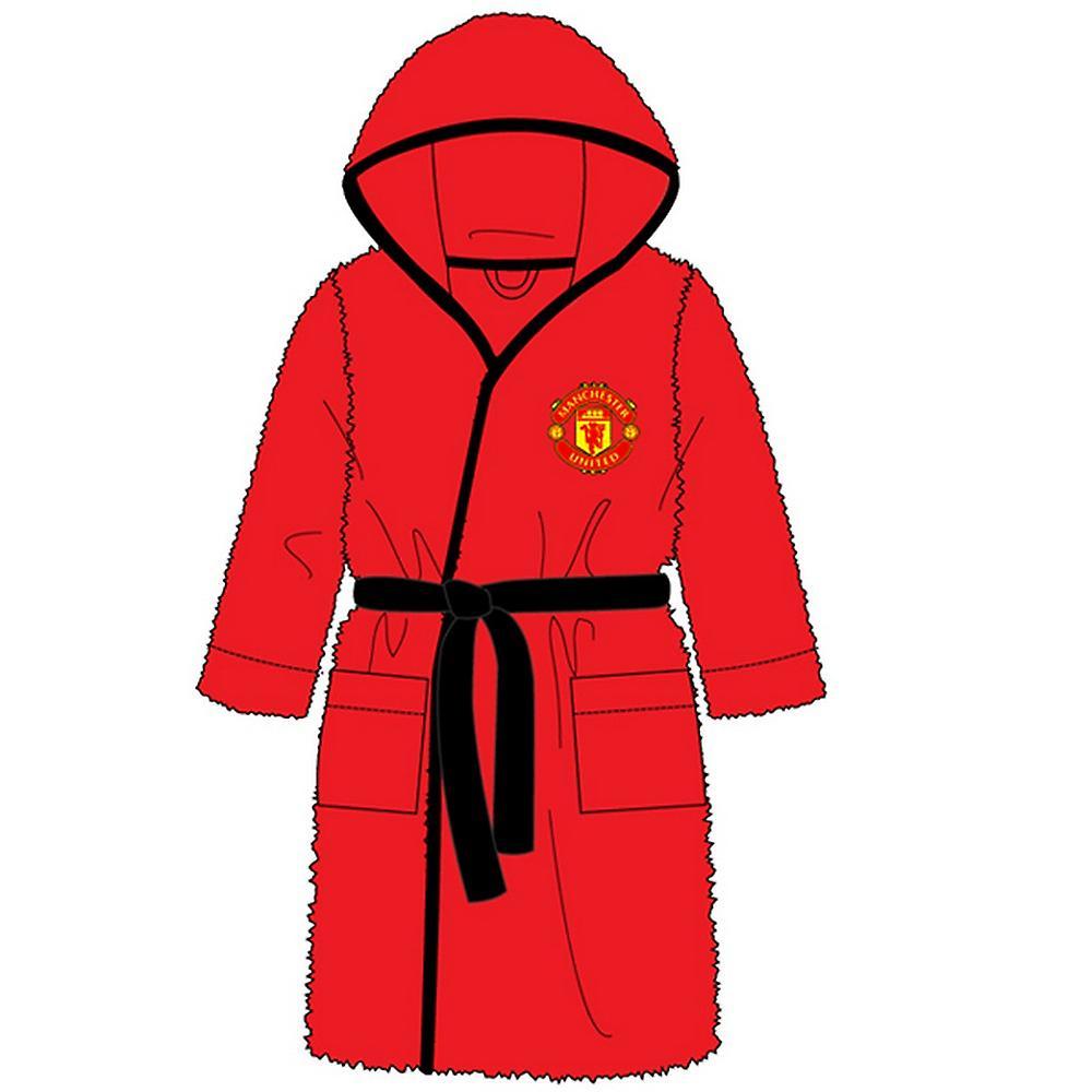 Manchester United FC Childrens/Kids Bath Robe