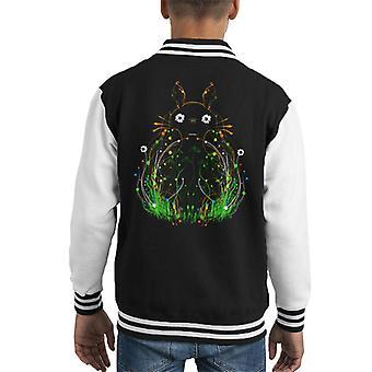 Plant Totoro Kid's Varsity Jacket