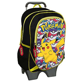 Removable 2i1 Pokemon Backpack/suitcase with wheels 43x18x32 cm