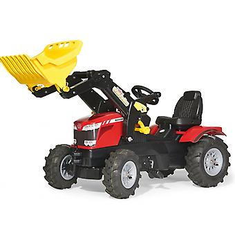 Rolly Toys Massey Ferguson 8650 Pedal Tractor with Frontloader and Pneumatic