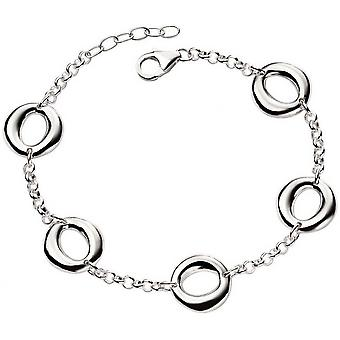 Beginnings Open Circle Organic Bracelet - Silver