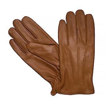 LLOYD mens gloves gloves goat leather Cognac 7629