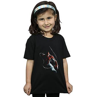 Marvel Girls Spider-Man Painting T-Shirt