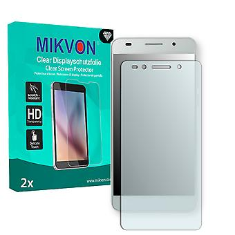 Huawei Honor 7 Premium Screen Protector - Mikvon Clear (Retail Package with accessories)