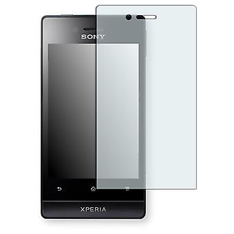 Sony Xperia ST23i screen protector - Golebo crystal clear protection film
