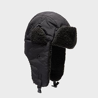 New Peter Storm Men's Phil Trapper Cosy Winter Warmth Hat Black (en anglais)
