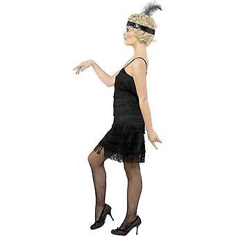 Fringe Flapper Costume, UK Dress 12-14