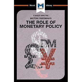 The Role of Monetary Policy by Nick Broten - 9781912127368 Book