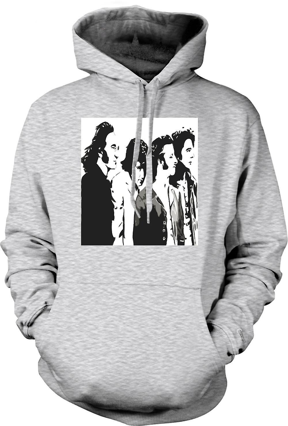 Herren Hoodie - Die Beatles - Band - Pop-Art