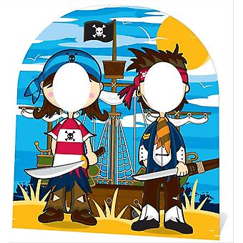 Little Pirate Friends Stand In (child size) Cardboard Cutout / Standee