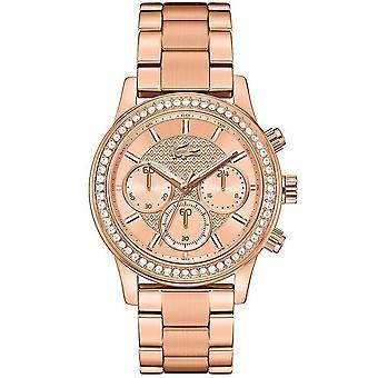 Lacoste women's watch wristwatch Charlotte stainless steel Rosé 2000834