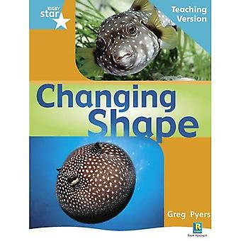 Changing Shape: Turquoise Level Non-fiction (Rigby Star Guided)