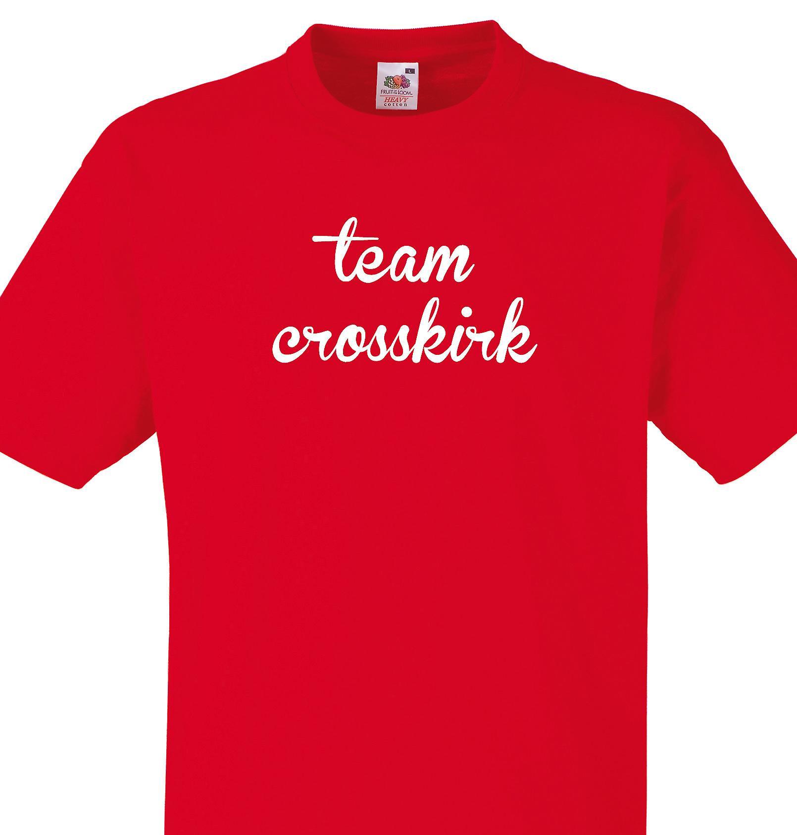 Team Crosskirk Red T shirt