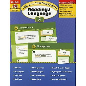 Take It to Your Seat Centers: Reading & Language, Grade 5 (Take It to Your Seat Reading and Language Centers)