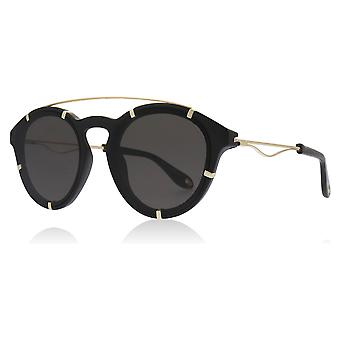Givenchy GV7088/S 2M2 Black / Gold GV7088/S Round Sunglasses Lens Category 3 Size 54mm