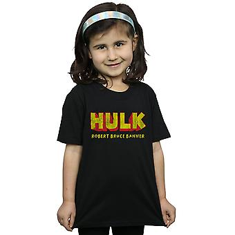 Marvel Girls Hulk AKA Robert Bruce Banner T-Shirt