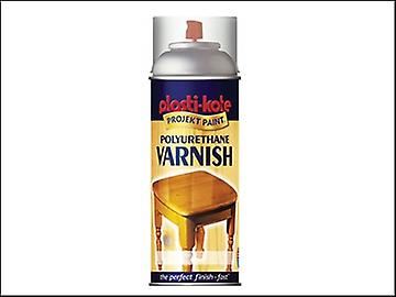 Plasti-kote Varnish Spray Clear Gloss 400ml