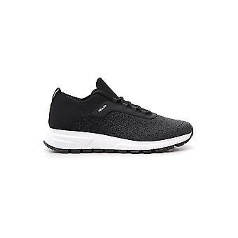 Prada White/black Rubber Sneakers