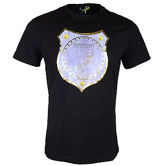 Versace Jeans Jersey Marte nero t-shirt