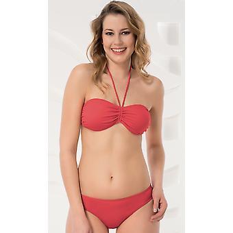 Aqua Perla - Womens - Noumea Red- Bikini Top