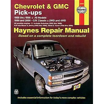 Chevrolet and GMC Pick-ups - All Models (88-98) - C/K Classic - 2WD an