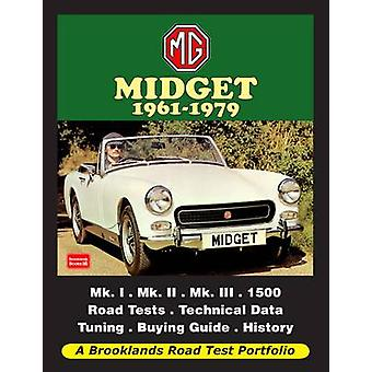 MG Midget 1961-1979 Road Test Portfolio by R. M. Clarke - 97818552089