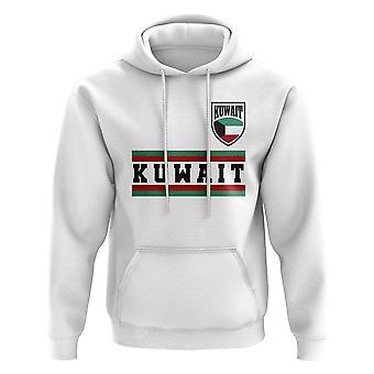Kuwait Core fútbol Country hoody (blanco)