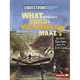 Quelle différence pourrait faire une voie navigable?: Et d'autres questions sur le canal Érié (Six questions de l'histoire américaine)