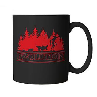 Evolution Of The Demogorgon Mug | Stranger Things Hawkins Indiana Upside Down DND | Will Mike Lucas Dustin Eleven Nancy Steve Barb | TV & Movie Cup Gift