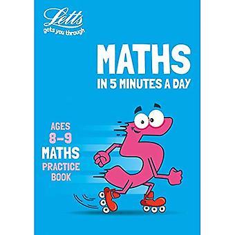 Letts Maths en 5 minutes par jour - Letts Maths en 5 minutes par jour Age 8-9 (Letts Maths en 5 minutes par jour)