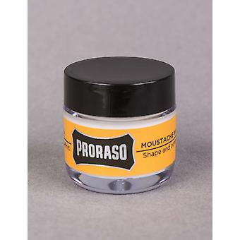 Proraso Moustache Wax - Wood & Spice (15ml)