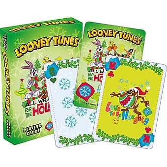 Spielkarte - Looney Tunes - Holiday Poker 52460
