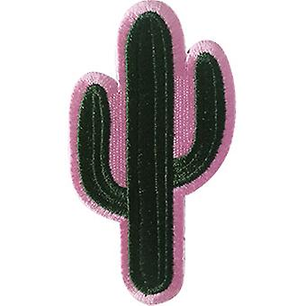 Patch - Cactus - Cactus on Pink Icon-On p-dsx-4776